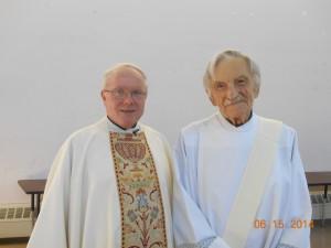 Fr Joe Goode and Decon John